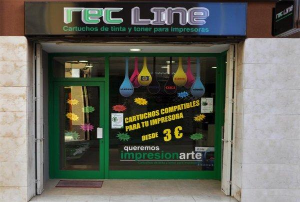 Rec line, Rec-Line, Consumibles Informáticos. Mayorista Cartuchos