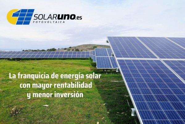SolarUno, Conviértete en dueño de tu propia energía aprovechando la energía solar fotovoltaica